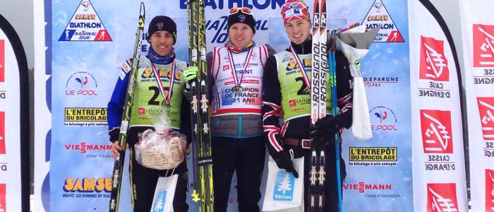 Aristide Begue_champion de france junior biathlon