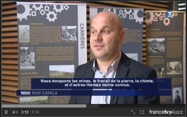 J. Lugand France 3 Pays Catalan - Expo Patrimoine Industriel Paulilles